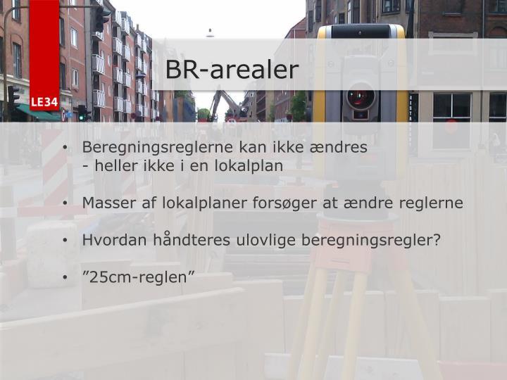 BR-arealer