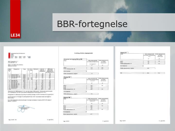 BBR-fortegnelse