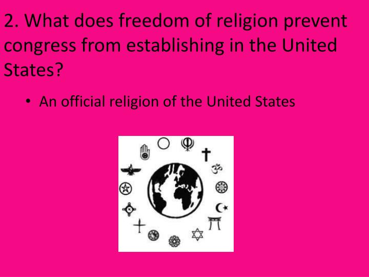 Freedom of religion in the United States