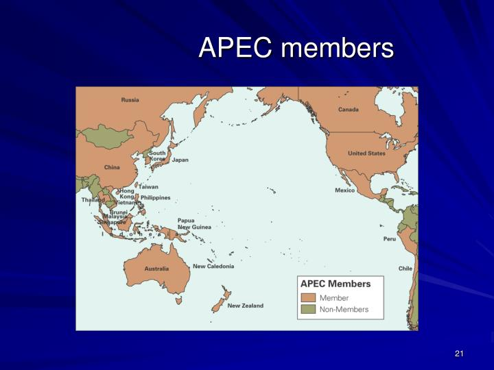APEC members