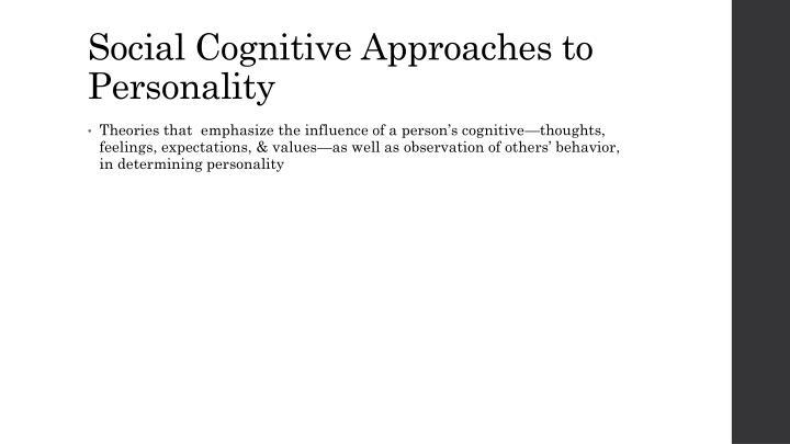 Social Cognitive