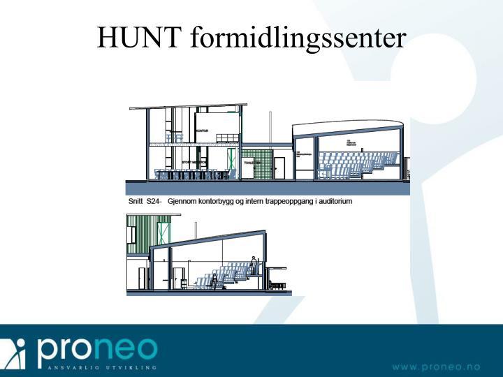 HUNT formidlingssenter