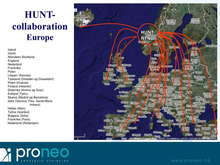 HUNT-collaboration