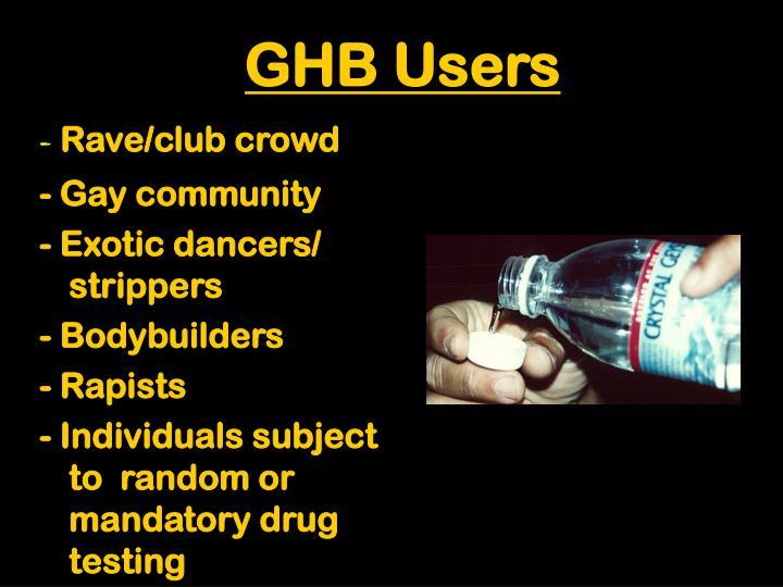 GHB Users