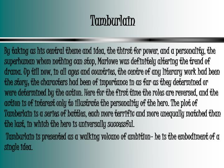 Tamburlain