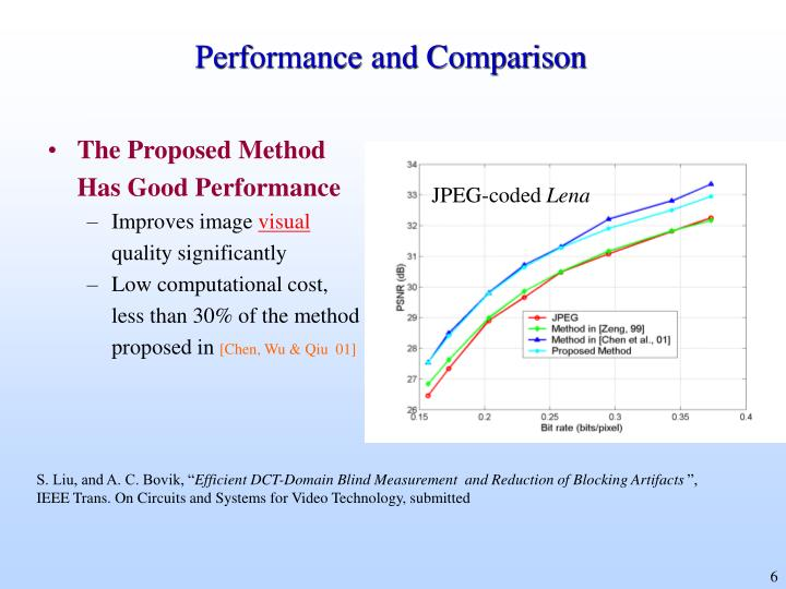 Performance and Comparison
