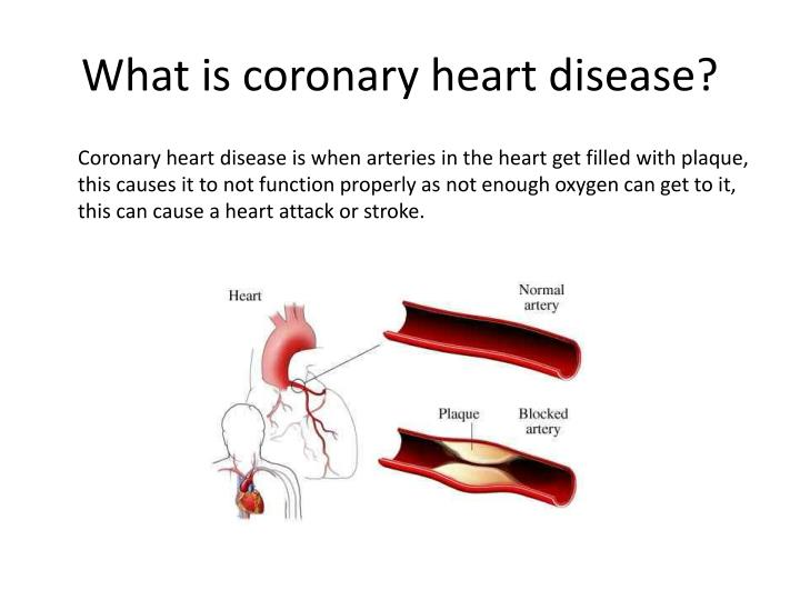 What is coronary heart disease