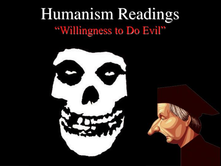 Humanism Readings