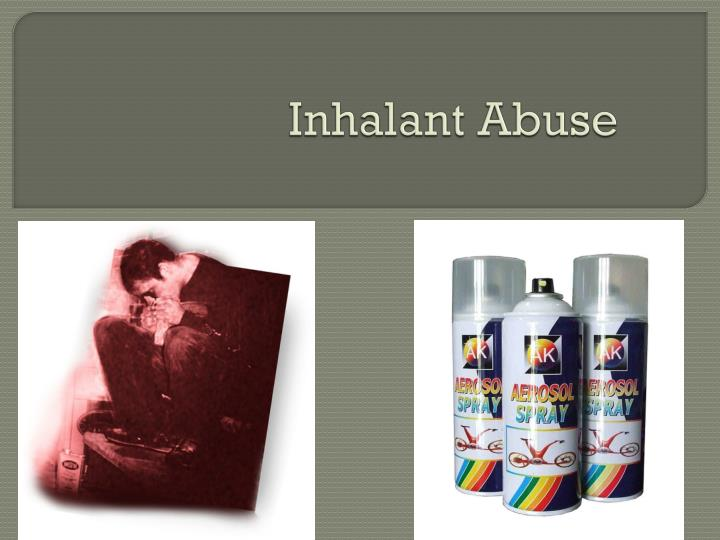 Inhalant abuse