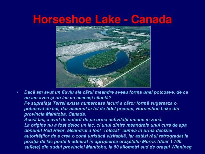 Horseshoe Lake - Canada