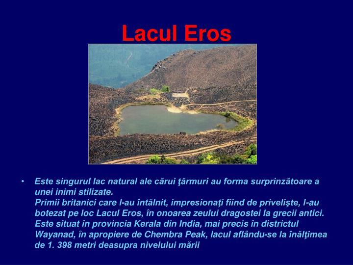 Lacul Eros