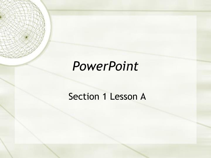 Movie character powerpoint presentation