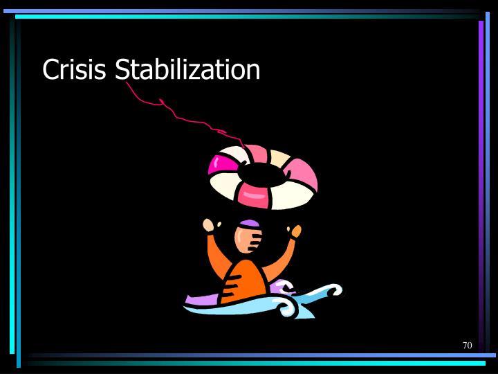 Crisis Stabilization
