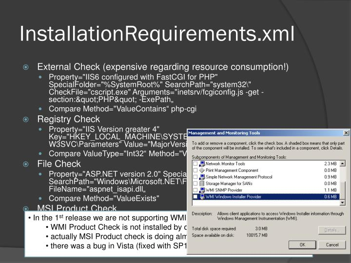 InstallationRequirements.xml