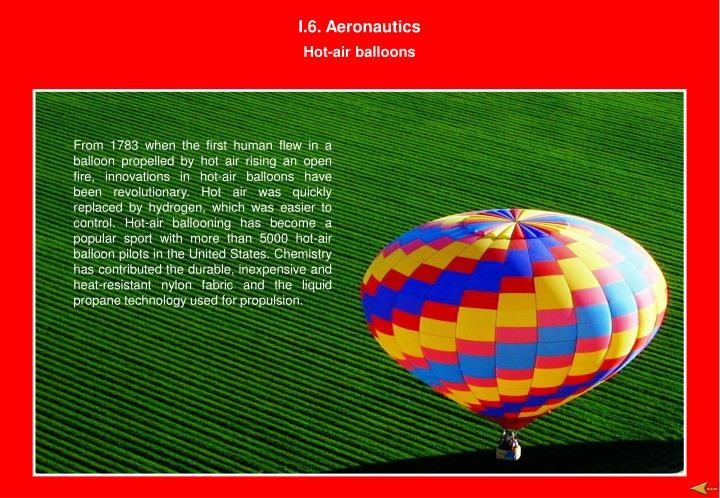 I.6. Aeronautics