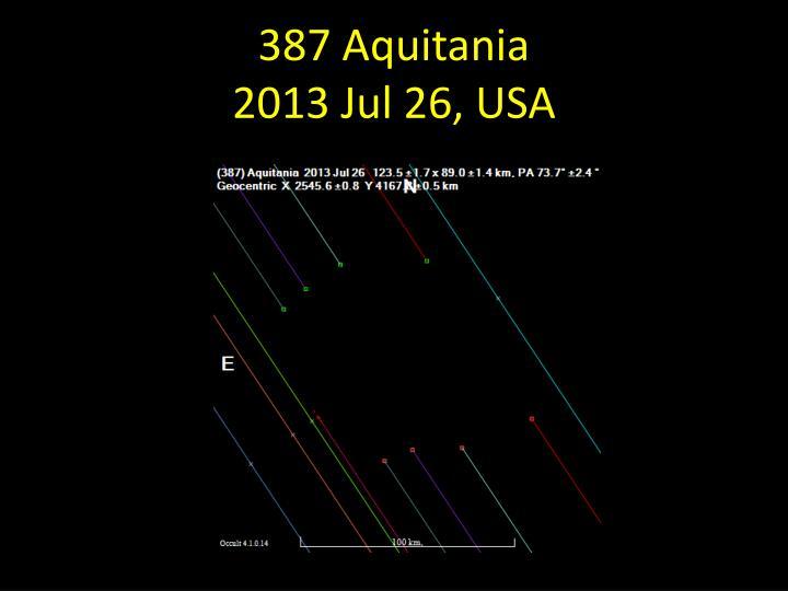 387 Aquitania