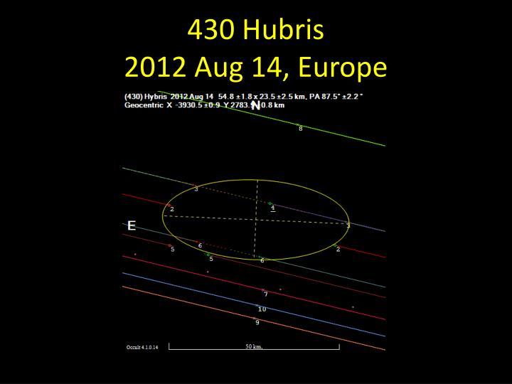430 Hubris