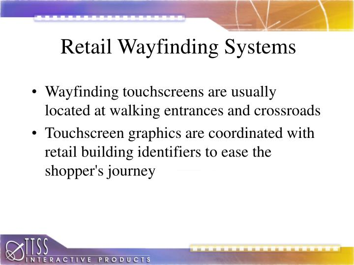 Retail Wayfinding Systems