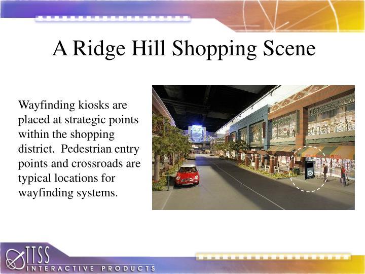 A Ridge Hill Shopping Scene