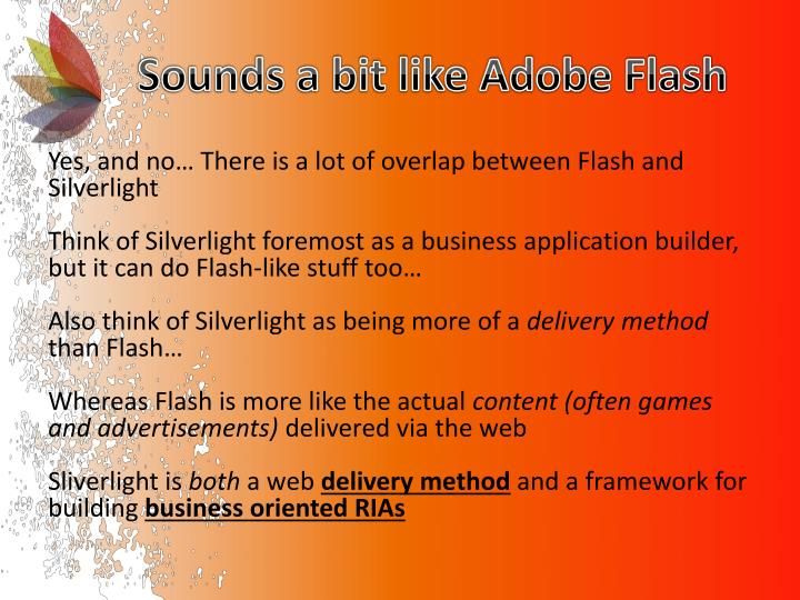 Sounds a bit like adobe flash