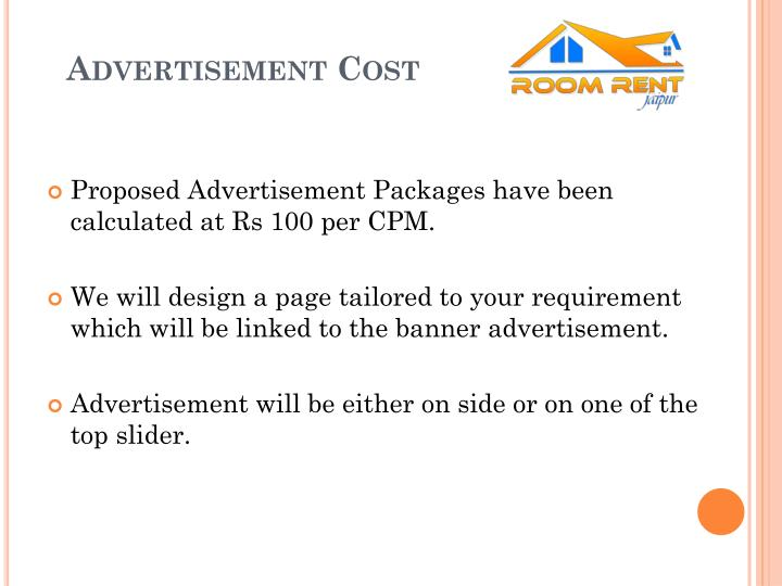 Advertisement cost
