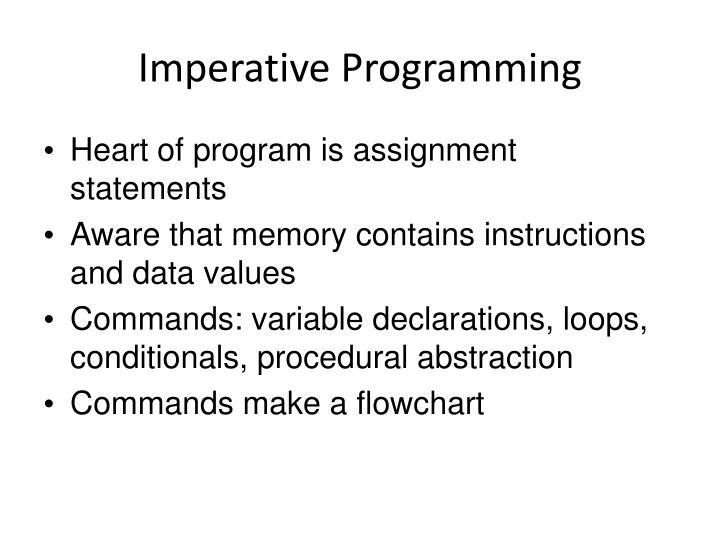 Imperative Programming