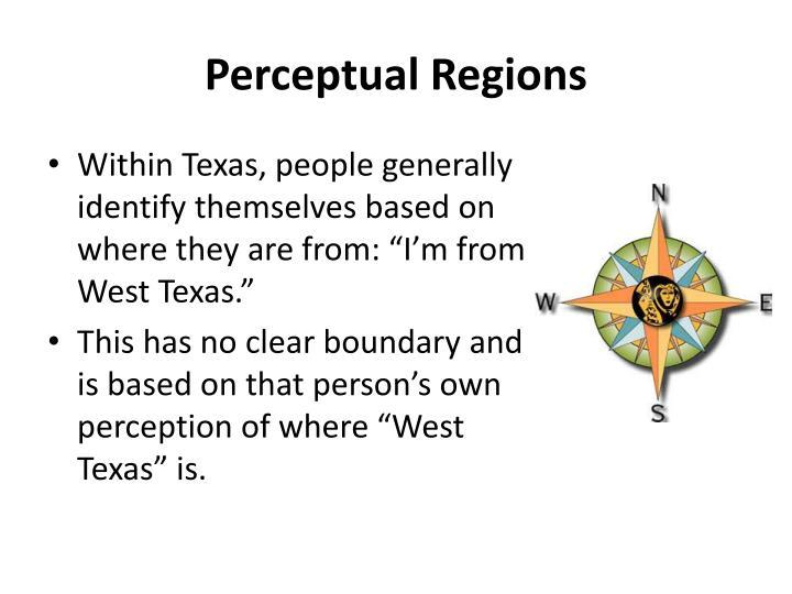 Perceptual Regions