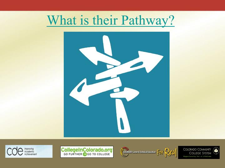 What is their Pathway?