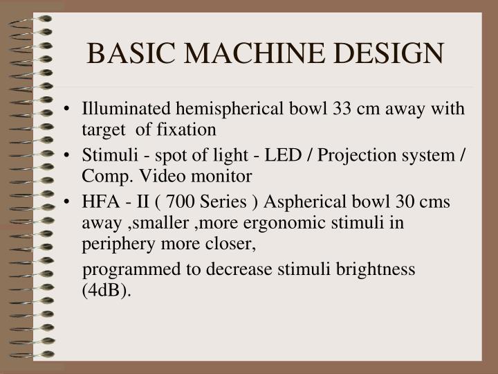 BASIC MACHINE DESIGN