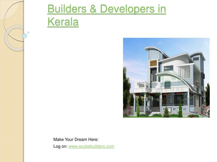 Builders developers in kerala