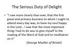the serious duty of delight5
