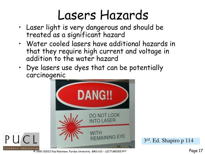 Lasers Hazards