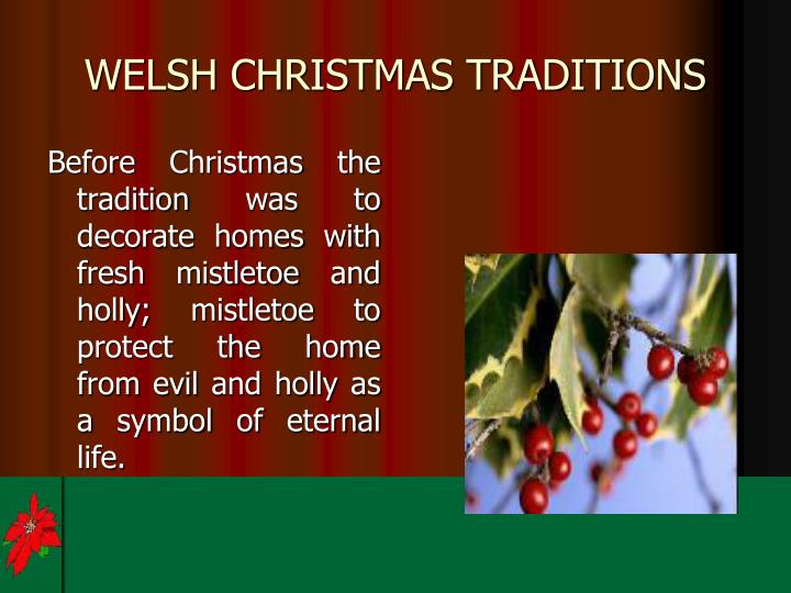 Welsh christmas traditions