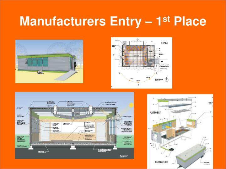 Manufacturers Entry – 1