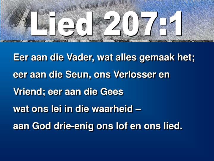 Lied 207:1