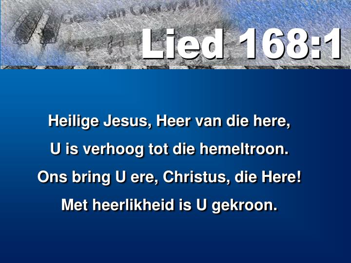 Lied 168:1