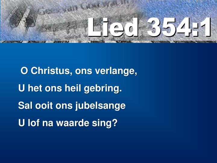 Lied 354:1