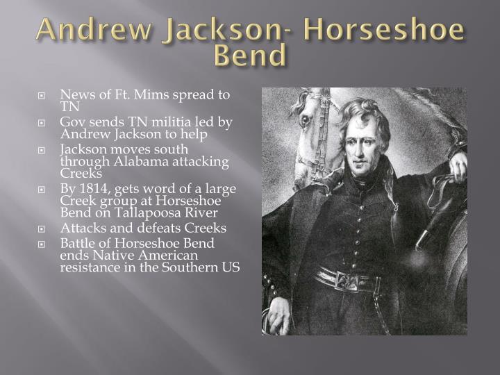 Andrew Jackson- Horseshoe