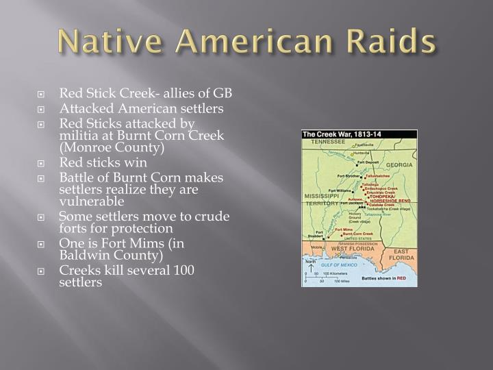 Native American Raids