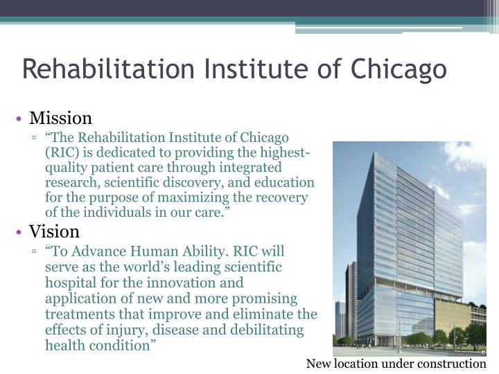 Rehabilitation Institute of Chicago