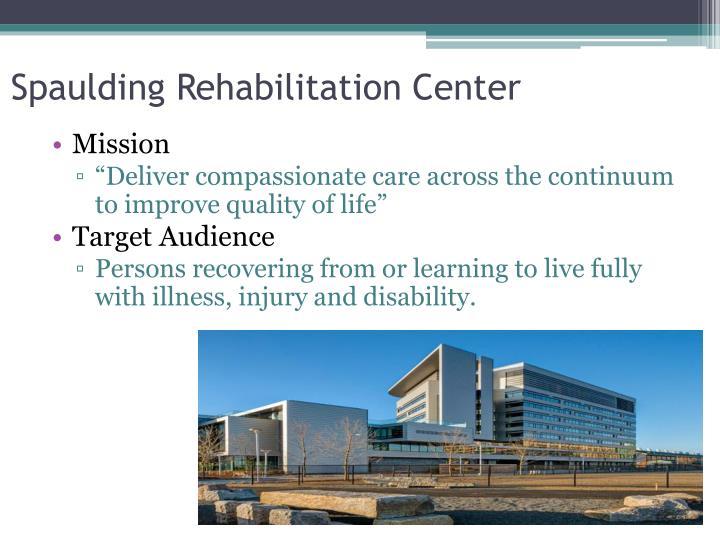 Spaulding Rehabilitation Center