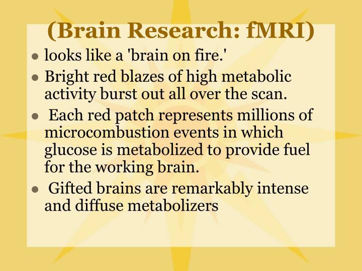 (Brain Research: fMRI)