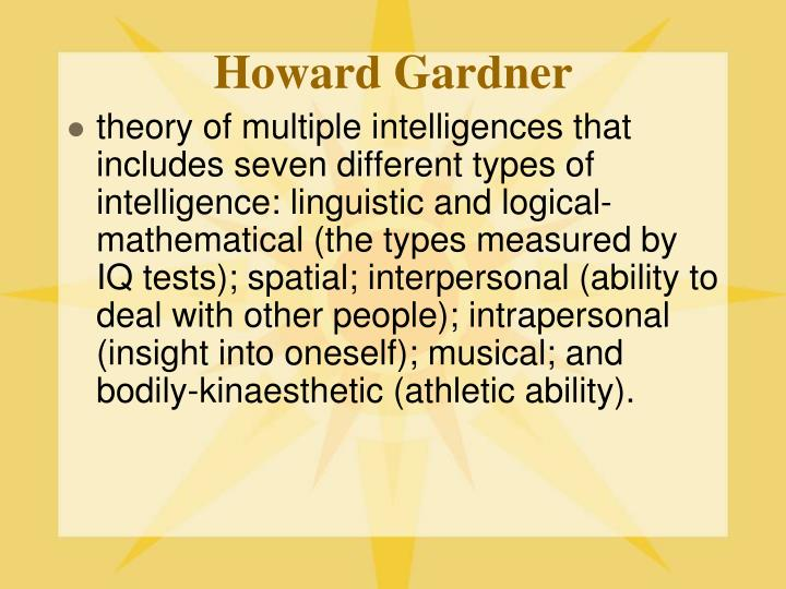 Howard Gardner