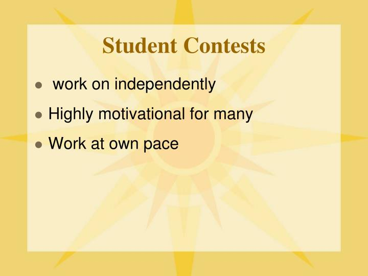 Student Contests