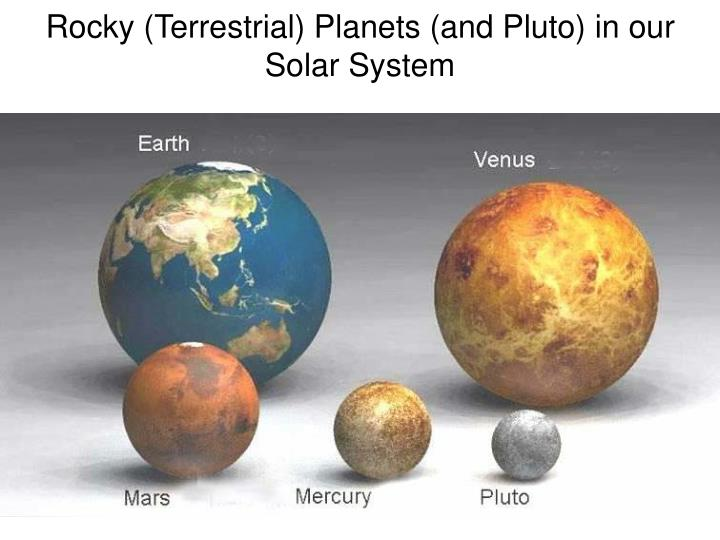 gas planets and rocky planets-#41