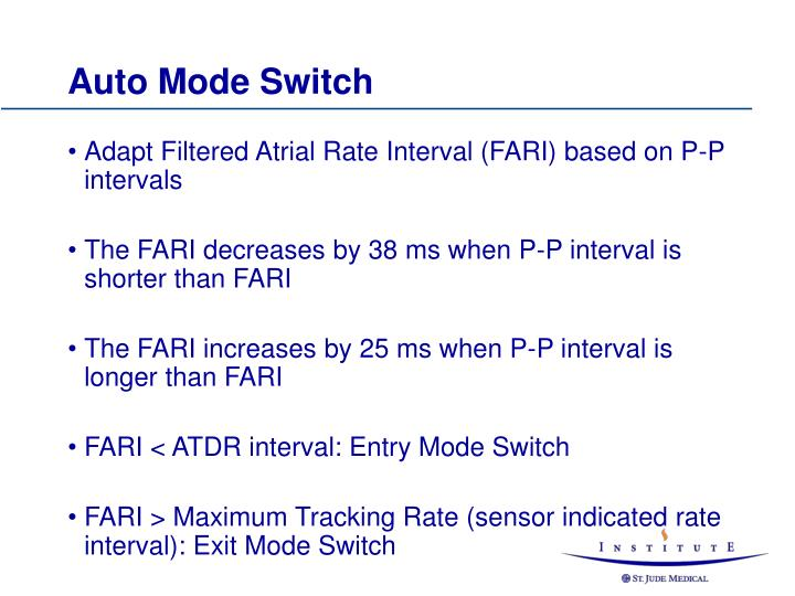 Auto Mode Switch