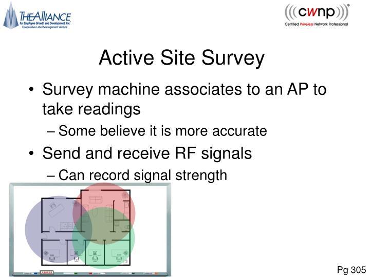 Active Site Survey