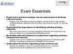 exam essentials1