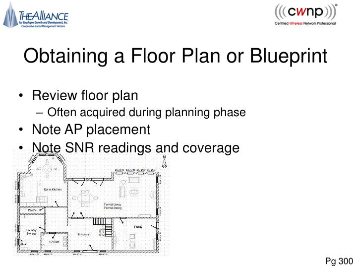 Obtaining a Floor Plan or Blueprint