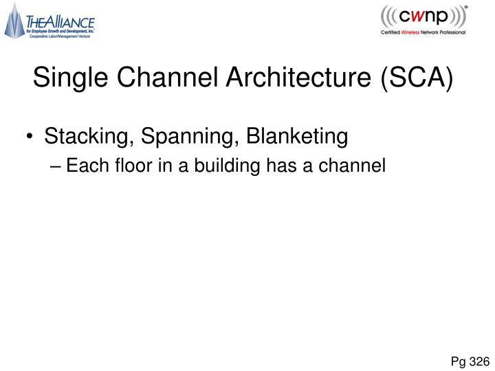 Single Channel Architecture (SCA)